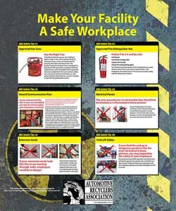 ARA Safety Poster Sample