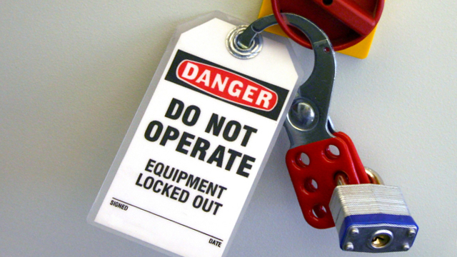 Lockout Tagout: Everything You Need To Know to Stay In Line with the OSHA LOTO Standard