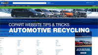 coparts automotive recycling tips